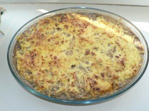 Картофельно- мясная запеканка