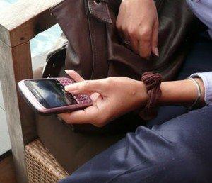 украли мобильный телефон