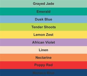Модные цвета в интерьере